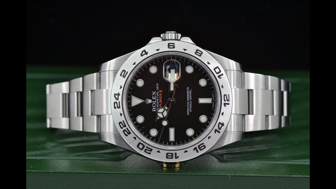 sold ll vintage watch explorer ii rolex shop watches