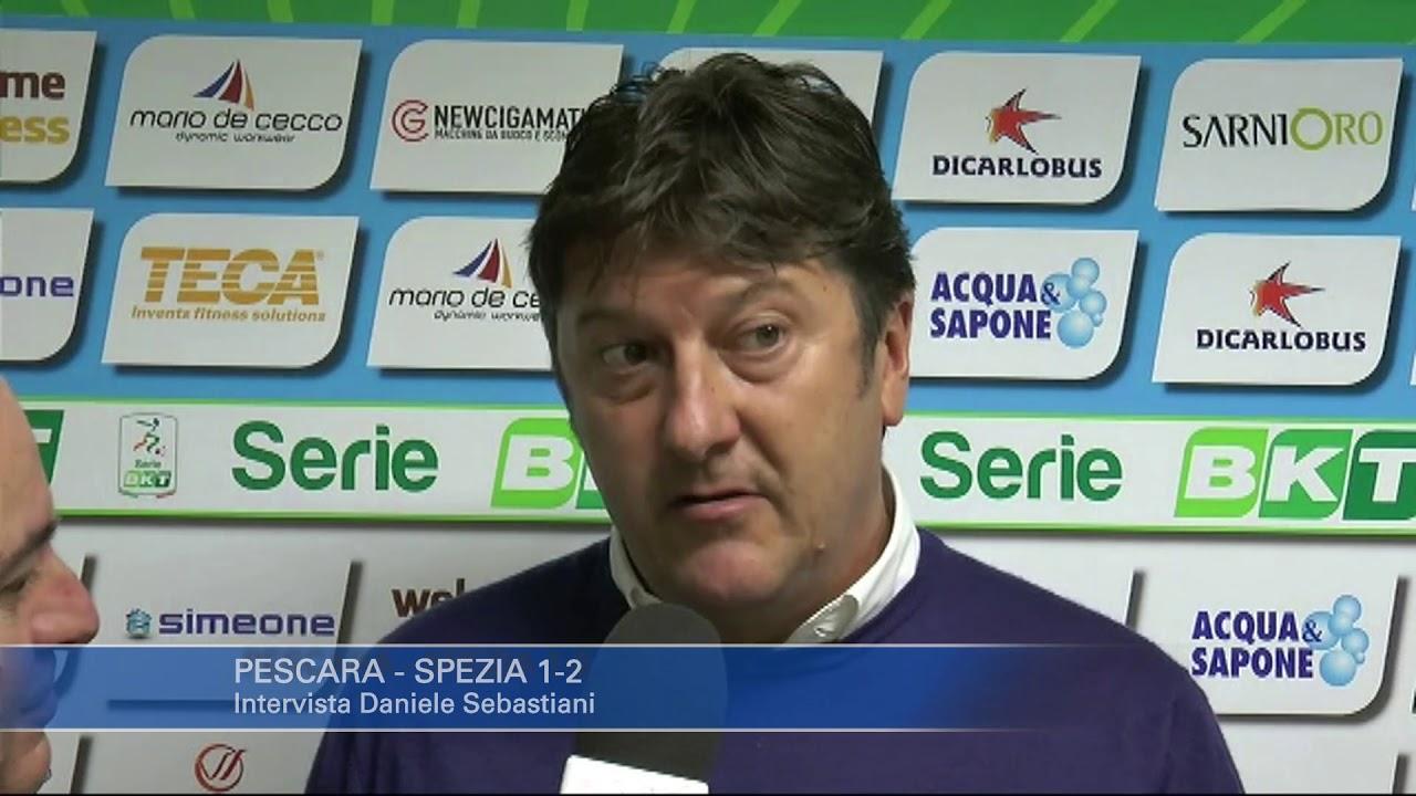 Pescara - Spezia 1-2: Daniele Sebastiani - YouTube