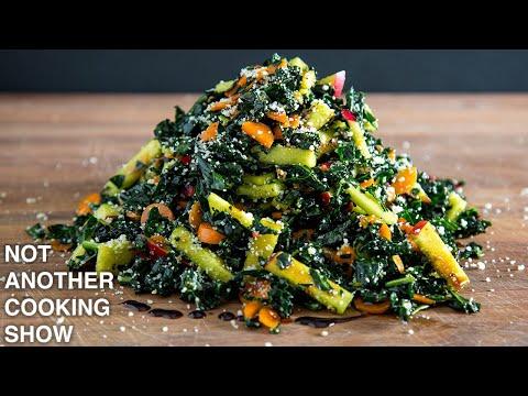 Garlic clove Lover's Kale Salad