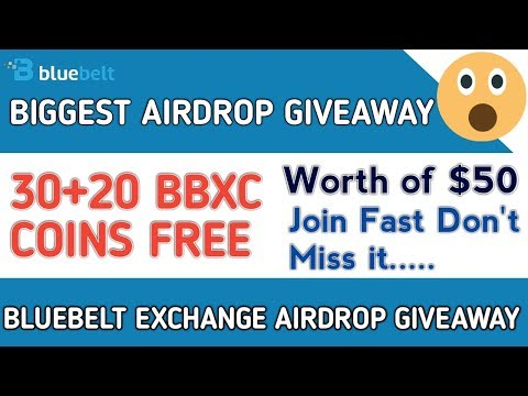 How to Get BBXC Coins || Earn BBXC TOKENS Free Airdrop || Bluebelt Crypto Trade Exchange Giveaway