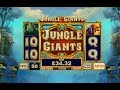 Jungle Giants Online Slot by Playtech - Free Games Feature!