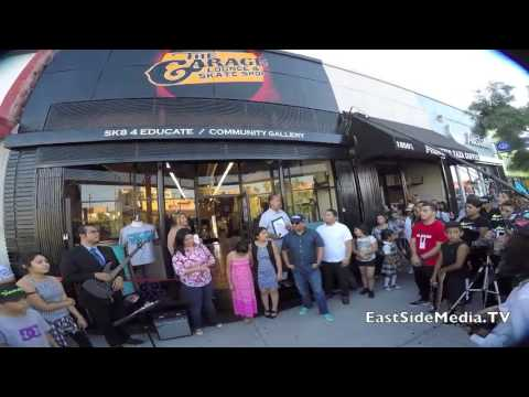 The Garage Lounge & Skate Shop - Grand Opening in Boyle Heights
