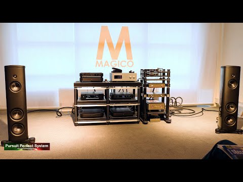 MAGICO NEW M2 Speakers Soulution MIT Kronos Aurender MSB DAC @ Munich High End HiFi Show 2019