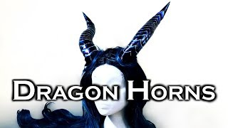 DIY Dragon Horns | Magnetic Attachment | Foam and Worbla How To