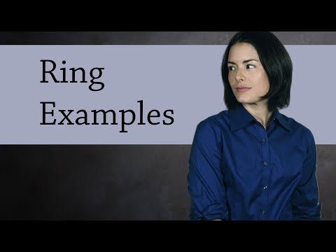 Ring Examples  (Abstract Algebra)