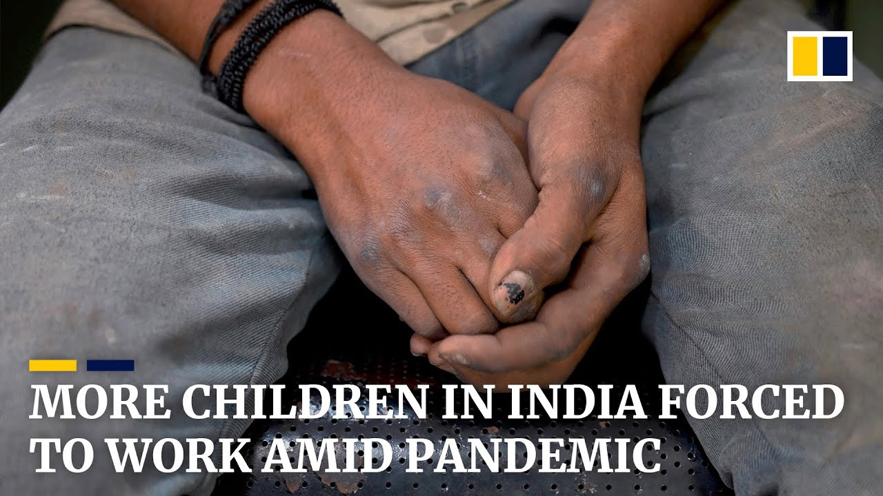 More children forced to work as coronavirus batters India's economy
