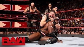 Reigns, Strowman & Lashley vs. Mahal, Owens & Zayn: Raw, April 30, 2018