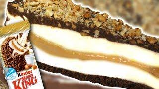 EPICKIE Ciasto Kinder MAXI KING 🥜🍫🍰 | Przepis