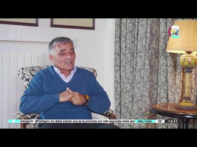 #CafeTuristico   Adán Baldevenito, Presidente de Sol de Mayo de Viedma    16/9/2021