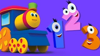 Bob Zug Zählen Song | Bildungs-Video | Bob Train Counting Song | Nursery Song | 3d Kids Cartoon