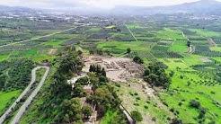 Ancient city of Phaistos Crete Greece