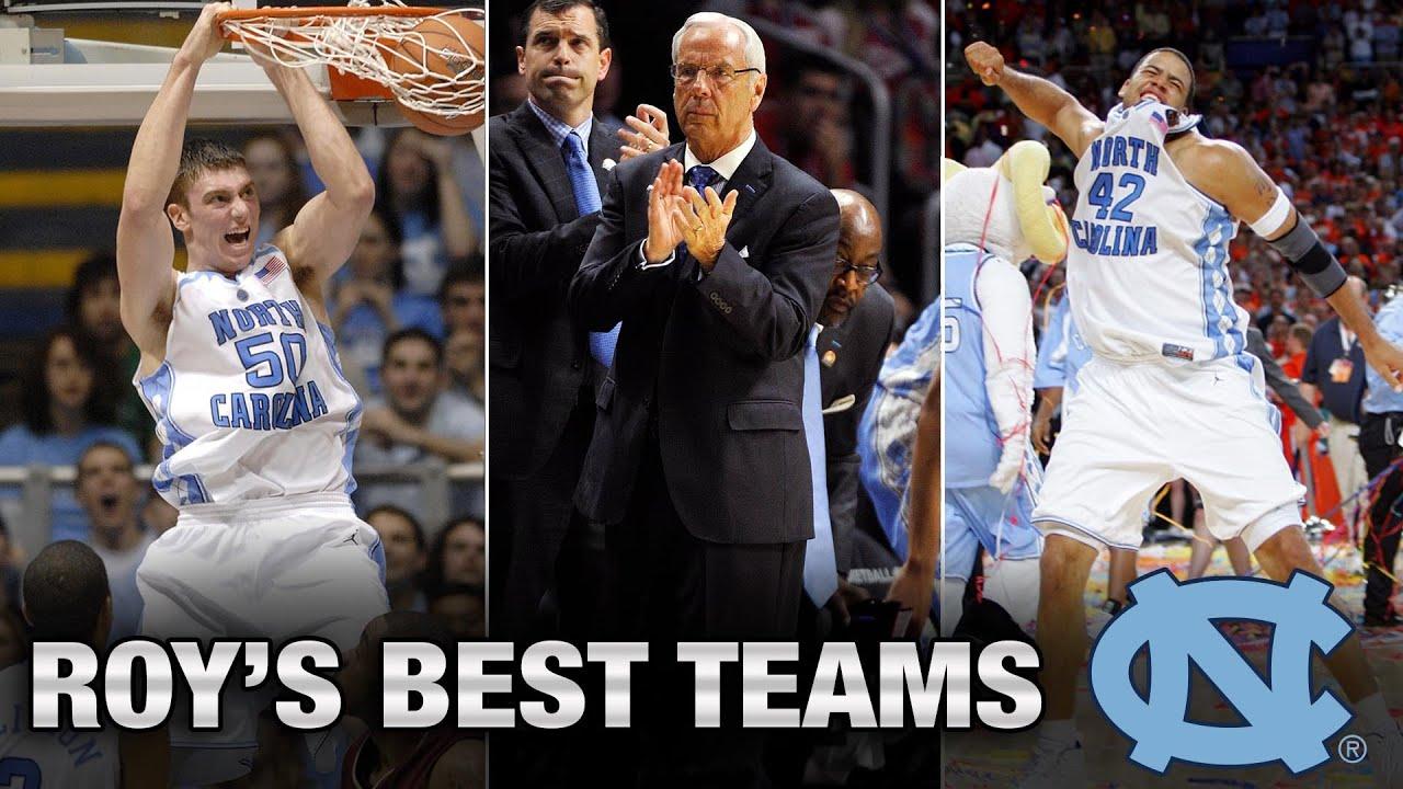 de09307cc70000 UNC Basketball  Top 4 Teams Under Roy Williams - YouTube