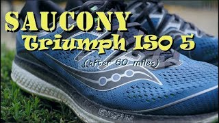 Saucony Triumph ISO 5 test & review - Top of the line neutral trainer