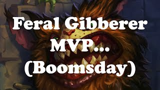 Hearthstone [WILD] Even Shaman / Feral Gibberer to rank 4: Most satisfying lethal ever (1080p)