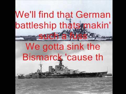 Johnny Horton - Sink the Bismarck with lyrics
