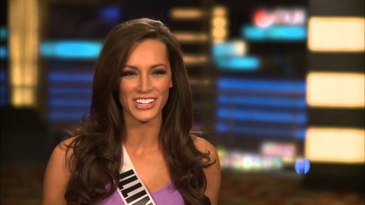 Miss Illinois Stacie Juris's Official 2013 Miss USA Interview - Celebs com