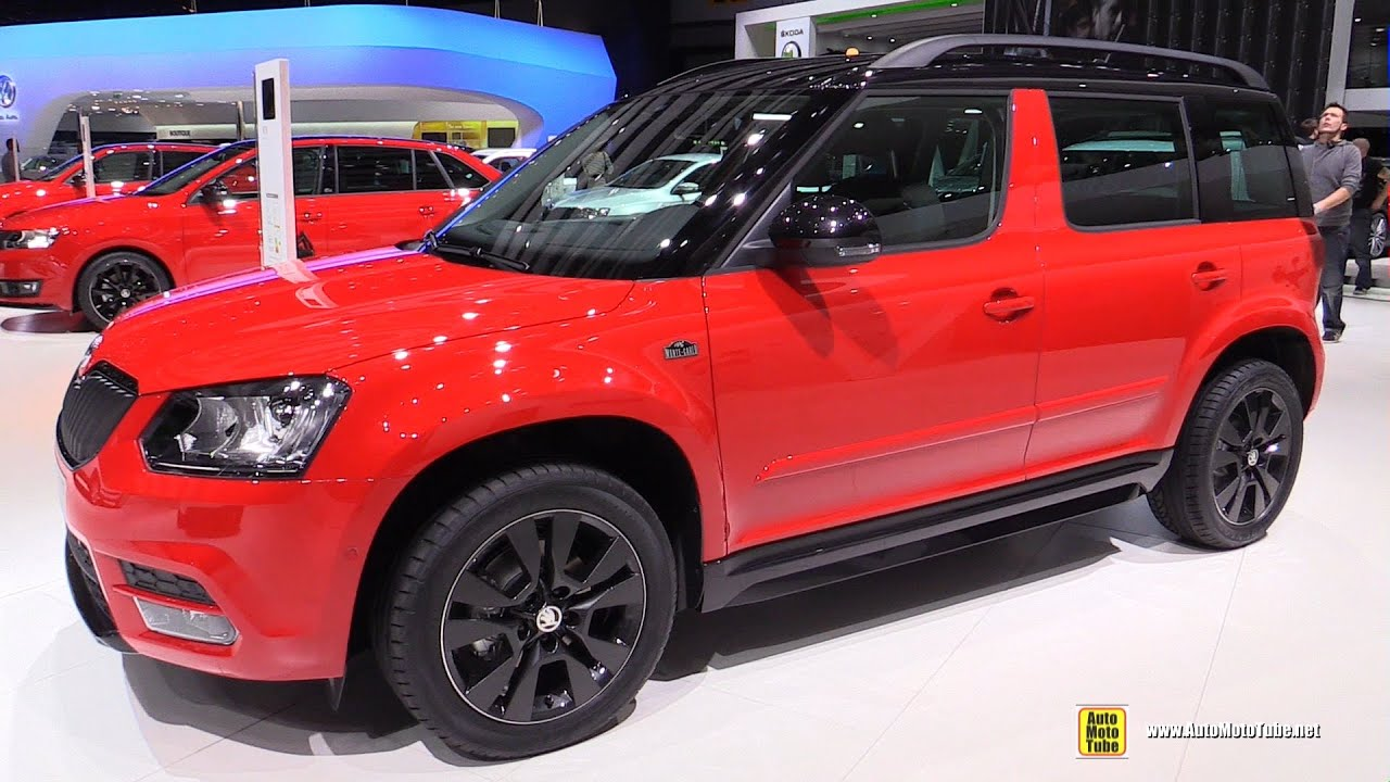 2015 skoda yeti monte carlo 2 0 tdi 150hp exterior and interior walkaround 2015 geneva motor. Black Bedroom Furniture Sets. Home Design Ideas