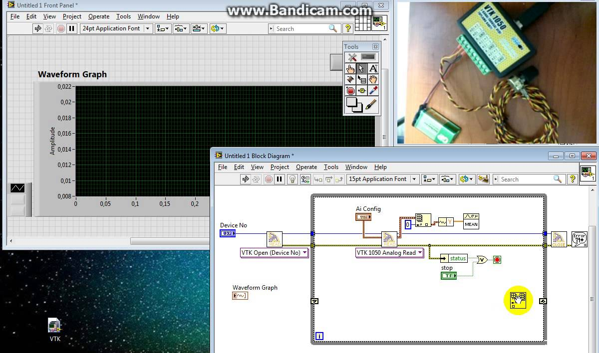 Labview Voltage Measurement Youtube