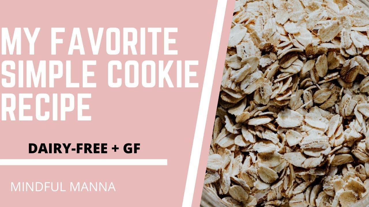 My Favorite Healthy Cookies