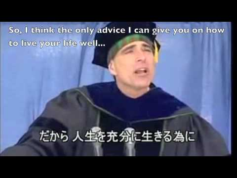 randy pausch graduation speech transcript