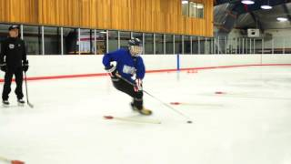 Practising Edges and Stick Handling