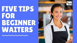 Restaurant service for beginners! Waiter training. How to be a good waiter! New waiter's Tip