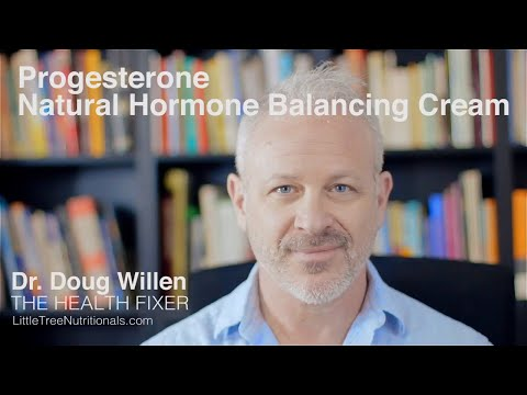 Natural PROGESTERONE CREAM For Women Over 30  |  Dr. Doug Willen