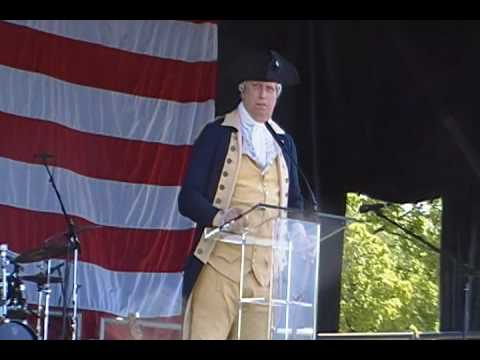 General Washington at the 2nd Amendment Rally