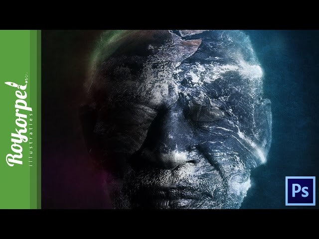 #Photoshop manipulation time lapse - Father Earth