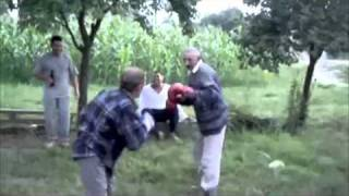 Senior Citizen Fight Night