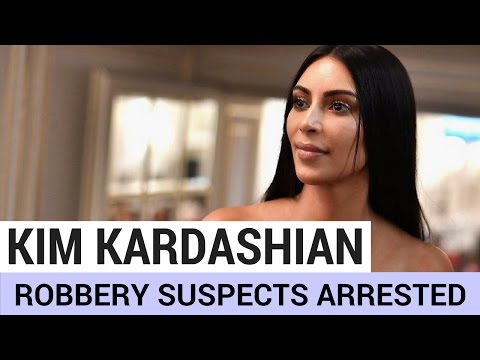 Kim Kardashian Robbery Suspects Arrested! (DETAILS)