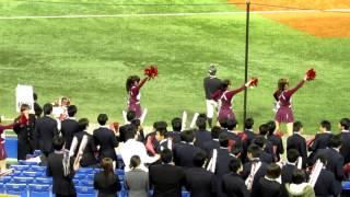 福岡大学応援(第四十三回明治神宮野球大会1回戦道都大戦①)