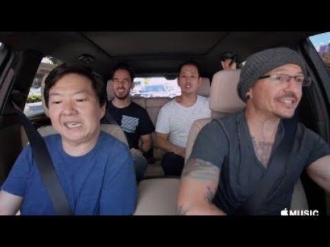 Carpool Karaoke Full episode with Linking Park  (Fully HD)
