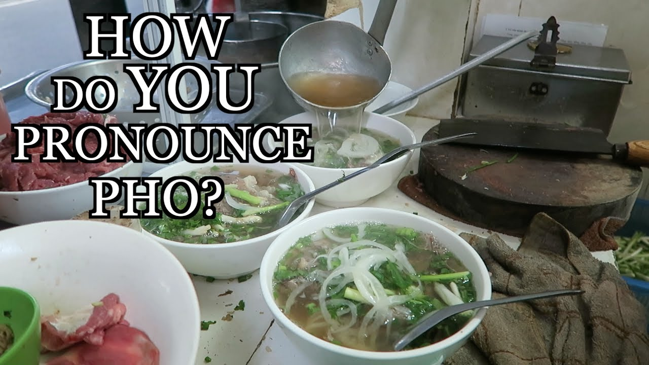 Delicious Pho Rice Noodle in Vietnam