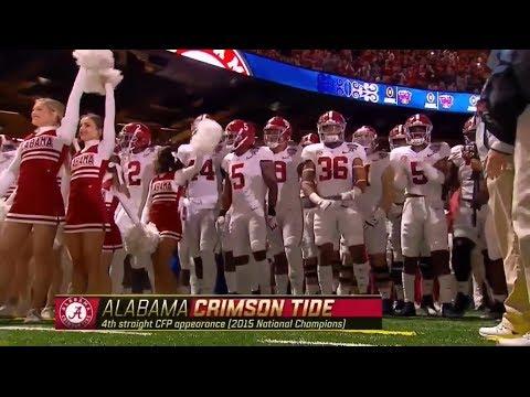 Alabama Football Season Highlights 2017