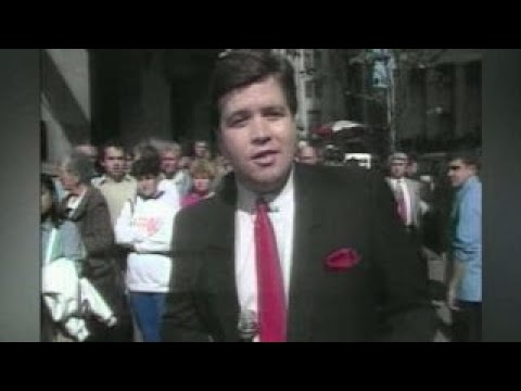 Van and Bonnie in the Morning - On this date in history in 1987 - Stock Market Crash