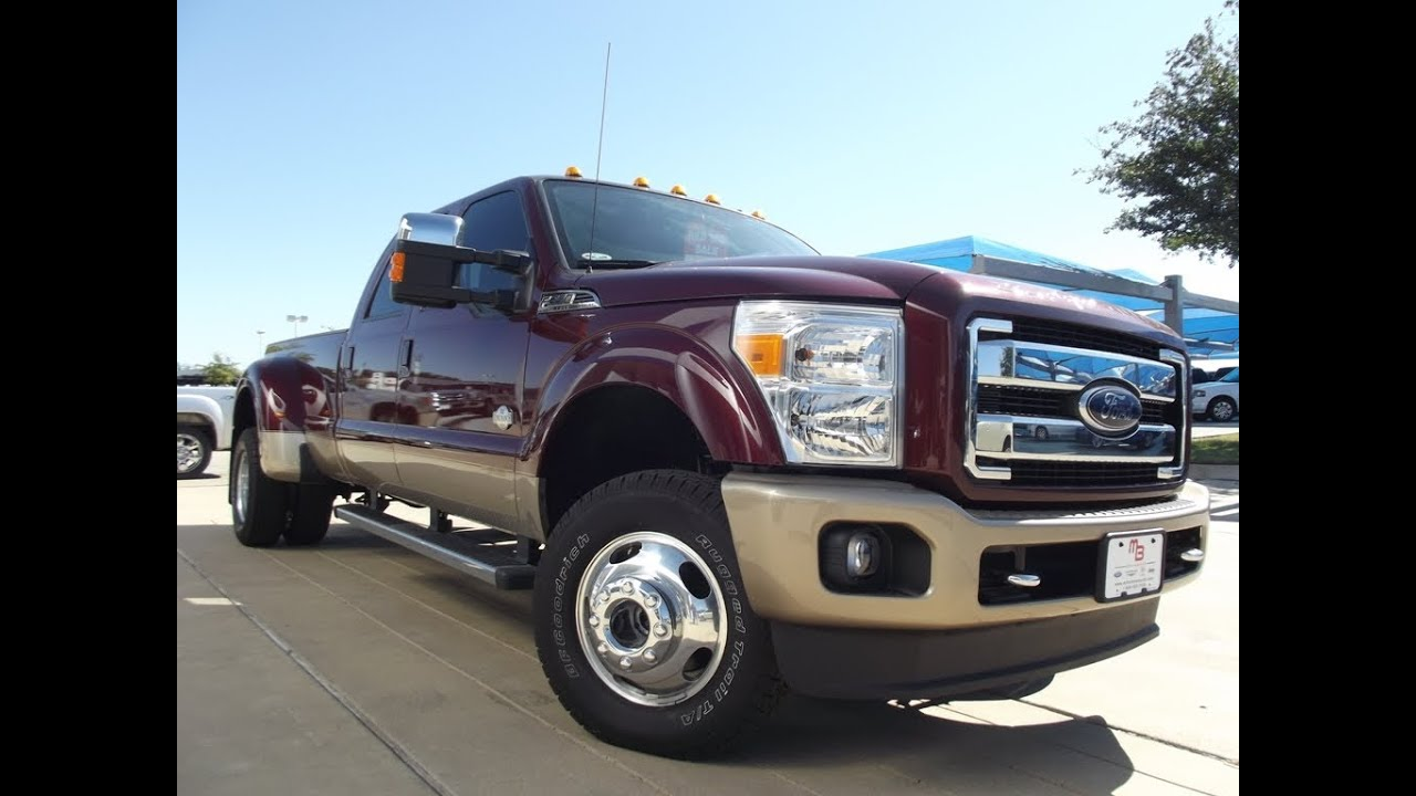 2012 ford f350 king ranch 4x4 dully crew cab diesel youtube. Black Bedroom Furniture Sets. Home Design Ideas