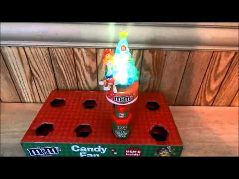 M & M Candy Musical Light Up Christmas Tree 2015
