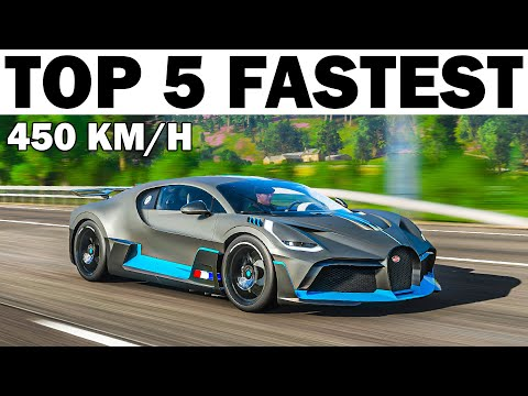 Top 5 Fastest