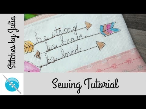 Using Pilot Frixion Pens on Fabric, A Free-Motion Sewing Tutorial