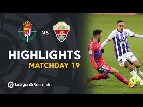 Valladolid Elche Goals And Highlights