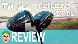 TITLEIST 917D2 TAYLORMADE M4 DRIVERS