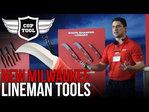 Milwaukee Lineman Utility Hand Tools & Storage Solutions  NPS18 Presentation