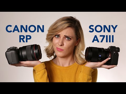 Canon RP vs Sony A7III: Which Mirrorless Camera to Buy in 2019?