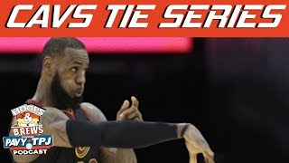 Cavaliers Tie Series vs Pacers Reaction | Hoops N Brews