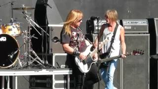 Britny Fox - Girl School Live at the 2016 Hair Nation Festival in Irvine Meadows