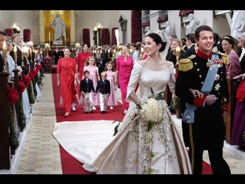 The Royal Wedding of Crown Prince Frederik and Mary Donaldson 2004