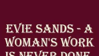 Evie Sands - A Woman