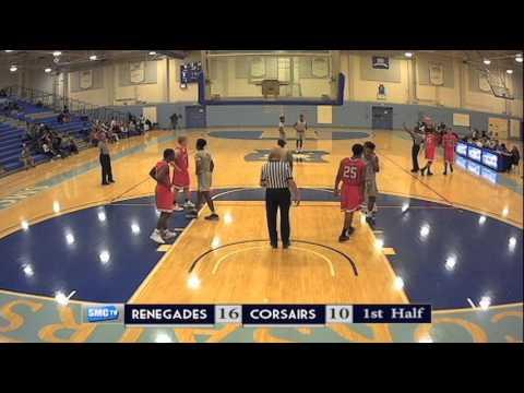 Santa Moncia College Men's Basketball vs Bakersfield College - February  8,  2017 (Full Game)