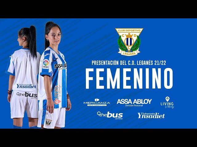 ⚽️ Presentación del C.D. Leganés Femenino 2021/22